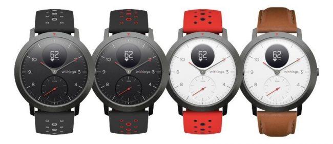 Hybridní chytré hodinky Withings Steel HR Sport se u nás prodávají ve dvou variantách a s několika tipy řemínků