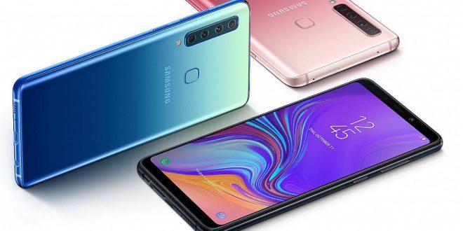 Samsung Galaxy A9 se čtyřmi fotoaparáty se dnes začíná prodávat v ČR