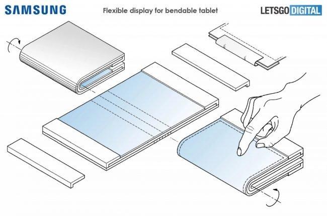 Patent Samsungu napovídá, jak by mohlo nové futuristické zařízení vypadat…