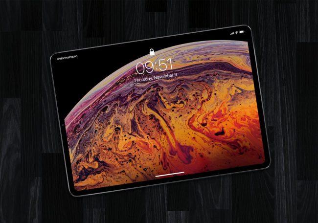 Takto by měl vypadat letošní iPad Pro