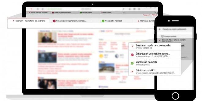 Podzimní aktualizace prohlížeče Seznam.cz přináší několik nových funkcí