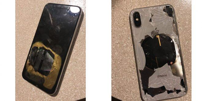 Tohle si Apple za rámeček nedá. iPhonu X po aktualizaci systému vybuchla baterie