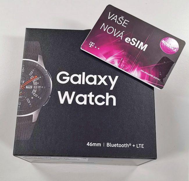 Samsung Galaxy Watch LTE a eSIM od T-Mobile
