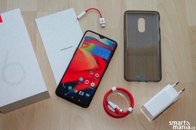 Obsah balení OnePlus 6T