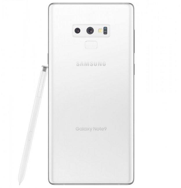 Bílý Samsung Galaxy Note 9 se tento týden začne prodávat na Tchaj-wanu