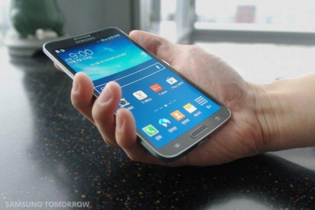 Samsung Galaxy Round z roku 2013