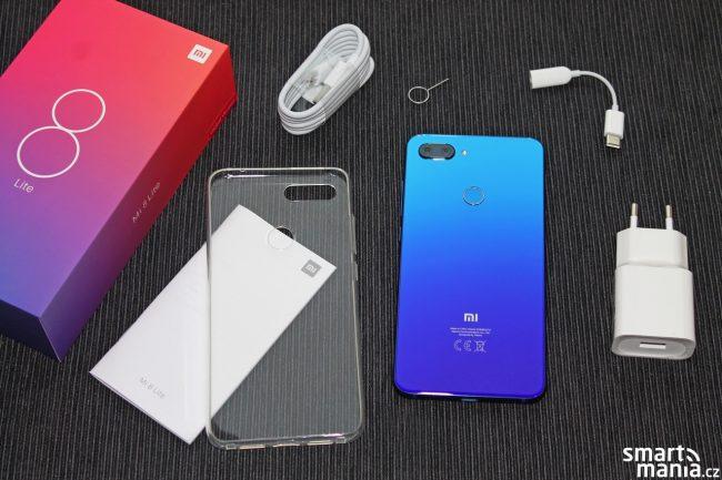 Obsah balení Xiaomi Mi 8 Lite