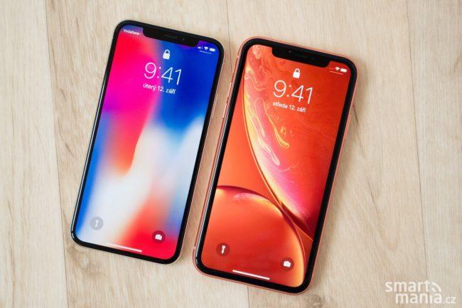 iPhone Xs a iPhone Xr