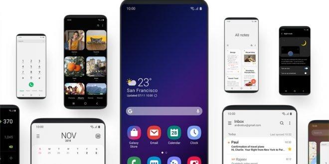 Radikální proměna prostředí Samsungu: nové One UI cílí na velké displeje
