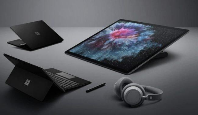 Microsoft Surface zařízení