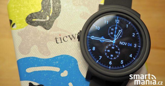 staré Recenze Ticwatch E  chytré hodinky s Wear OS za hubičku 052affffc13