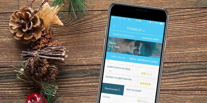 Aplikace Tomikup pomůže darovat i dostávat lepší dárky (recenze)