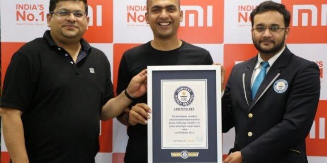 Xiaomi se zapsalo do Guinessovy knihy rekordů. Vjaké uspělo disciplíně?