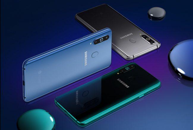 Samsung Galaxy A8s bude dostupný ve třech barevných variantách