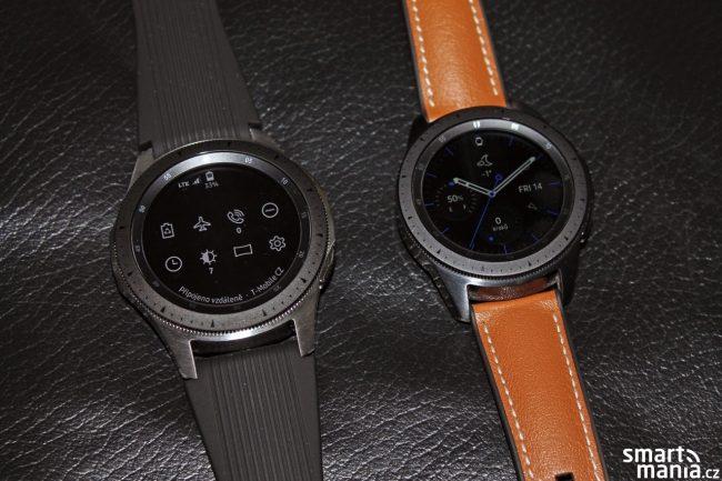 Samsung Galaxy Watch LTE (46 mm) a klasická edice (42 mm)