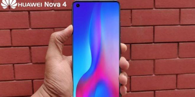 Huawei Nova 4 se kompletně odhaluje. Dostane obří displej sdírou pro selfie kamerku