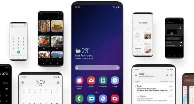 Android Q přinese na smartphony od Samsungu nové prostředí One UI 2.0