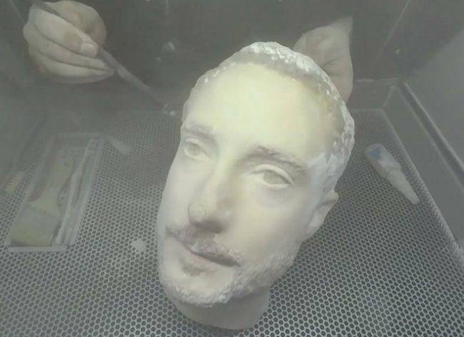 Výroba testovací hlavy :-)