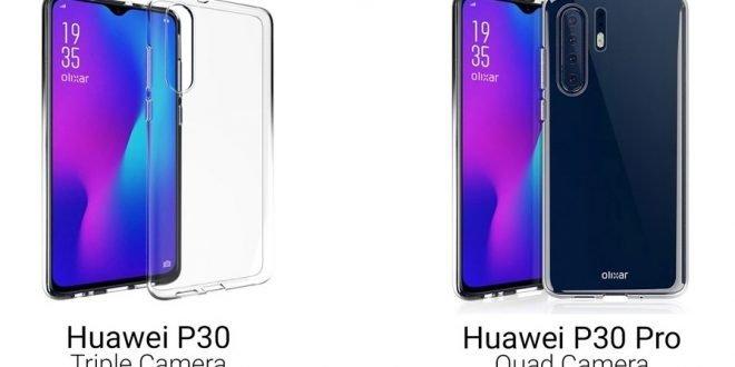 Huawei P30 a P30 Pro dostanou kapkovitý výřez. Vyšší model bude mít 4 fotoaparáty