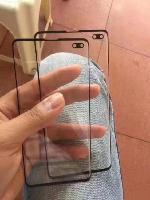 Krycí sklo pro Samsung Galaxy S10+