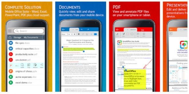Výběr redakce: 7 nejlepších kancelářských balíků pro Android