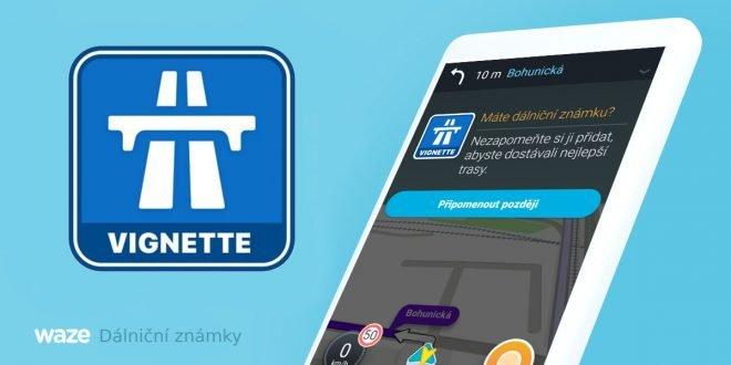 Populární navigace Waze nově umí dálniční známky, odpadlo otravné přepínání
