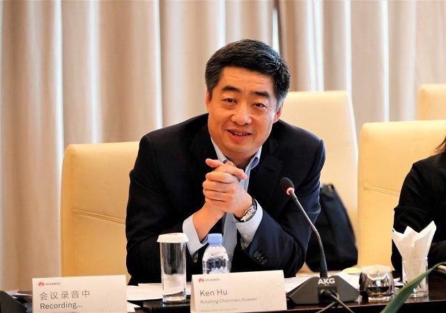 Předseda společnosti Huawei Ken Hu