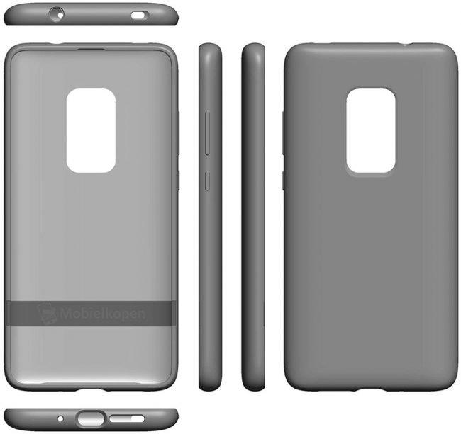 Kryt telefonu naznačuje, jak by měl vypadat Huawei Mate 30