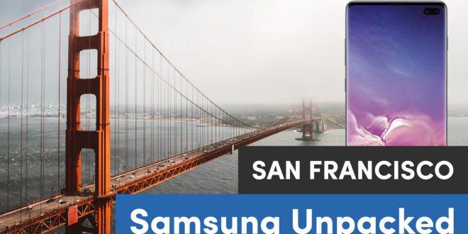 Samsung Galaxy S10, Galaxy Fold a další novinky: sledujte naše zpravodajství přímo z USA