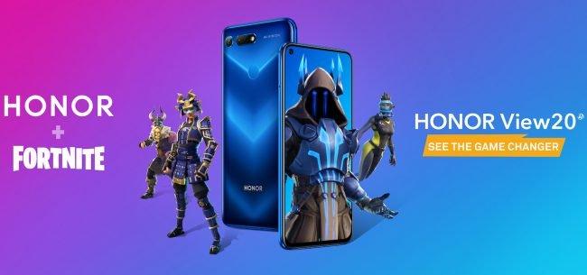 Majitelé smartphonu Honor View 20 si mohou stáhnout speciální skin do hry Fortnite