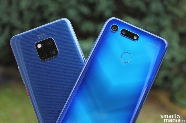 Huawei Mate 20 Pro vs. Honor View 20