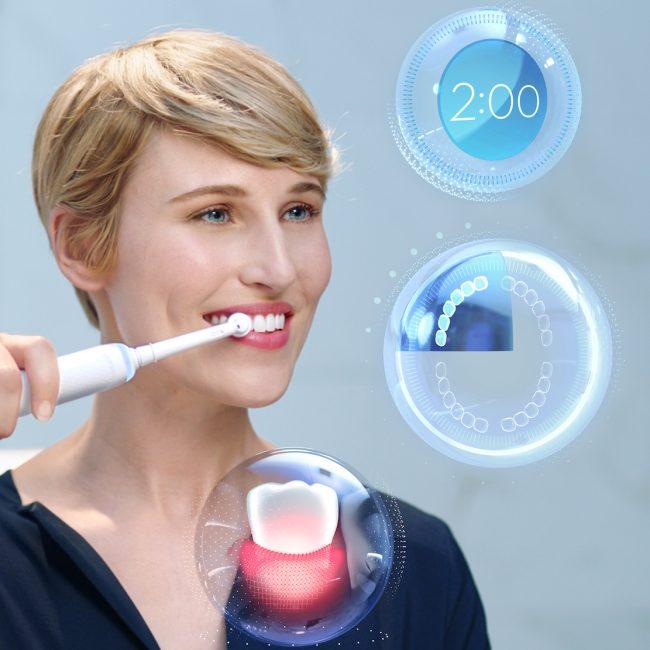 Oral-B v Barceloně představil zubní kartáček s umělou inteligencí