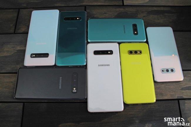 Samsung Galaxy S10e, S10 a S10+