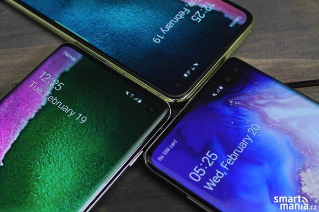 Samsung Galaxy S10e, Galaxy S10 a S10+