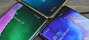 Samsung Galaxy S10 a Galaxy S10+