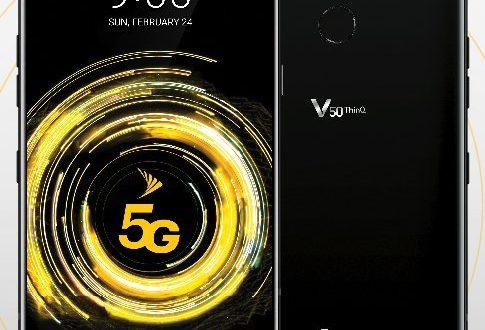 V50 ThinQ: takto bude vypadat první LG spodporou sítí 5G