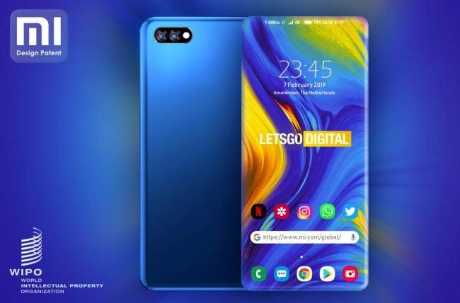 Xiaomi bezrámečkový koncept