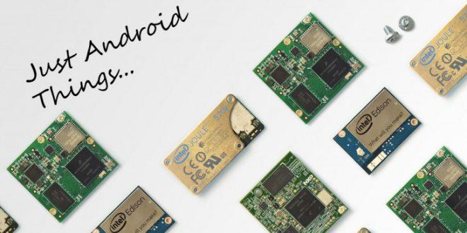 Google zlomil hůl nad Android Things. Využije ji jen pro reproduktory a displeje
