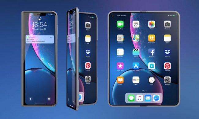 Takhle si podobu ohebného iPhonu představují grafici ze serveru LetsGoDigital.nl