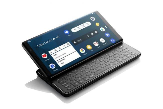 Chystaný smartphone Pro1 nabídne výsuvnou hardwarovou klávesnici.