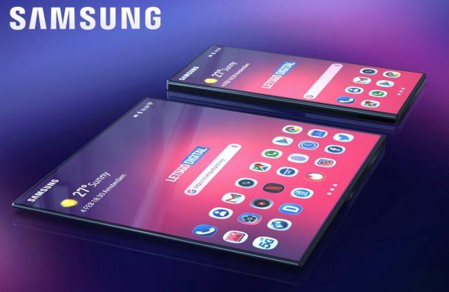 Takto by mohl vypadat Samsung Galaxy F