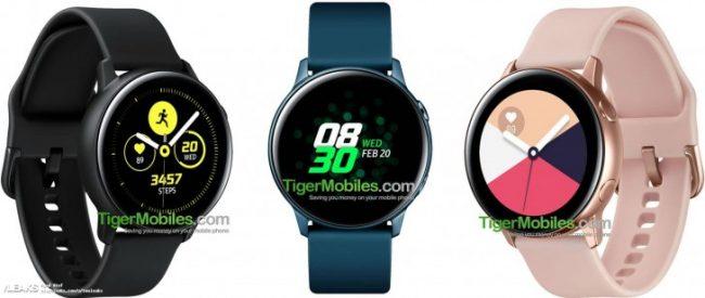 staré Samsung Galaxy Watch Active  chystané sportovní hodinky kompletně  odhaleny ec7f0c3a393