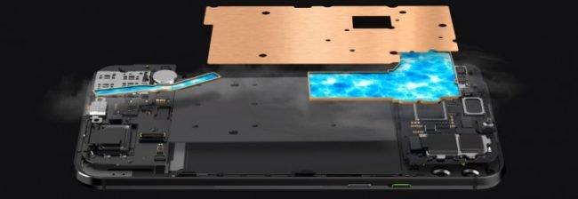 Xiaomi Black Shark 2 a systém chlazení
