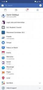 Facebook UI 2
