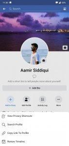 Facebook UI 3