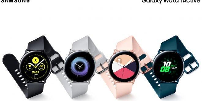 Samsung Galaxy Watch Active: Skvělé hodinky pro náročný životní styl