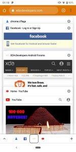 Google Chrome Bottom Toolbar Tabs 3