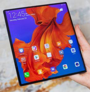 Huawei Mate X naživo
