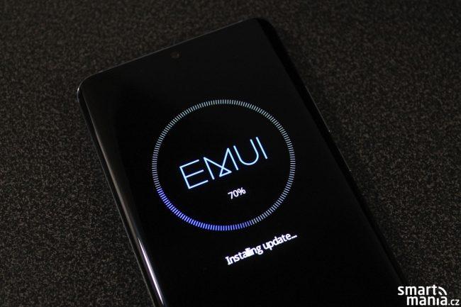 Huawei P30 Pro aktualizace