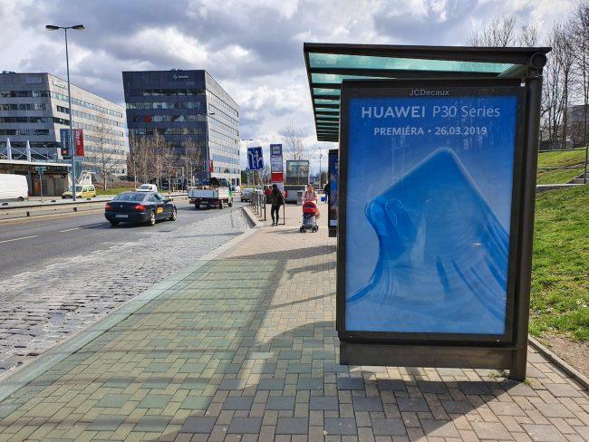 Huawei billboard